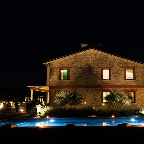 Agriturismo La Ratta by night